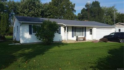 Single Family Home For Sale: 4458 S Linden Road