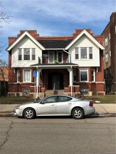 Detroit Multi Family Home For Sale: 63 E Palmer Street