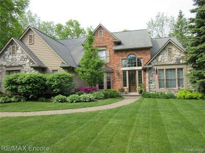 Single Family Home For Sale: 9244 Lake Ridge Drive