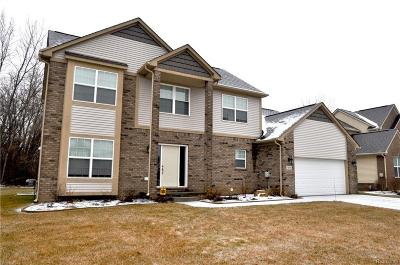 Commerce Twp Single Family Home For Sale: 1630 Trace Hollow Dr