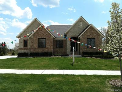 Macomb County, Oakland County Single Family Home For Sale: 11730 Forest Brook Drive