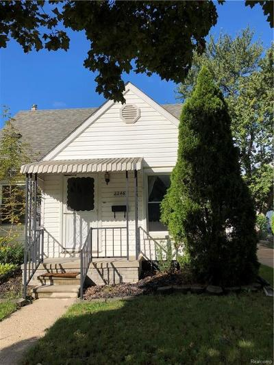 Dearborn Single Family Home For Sale: 2246 Parker Street