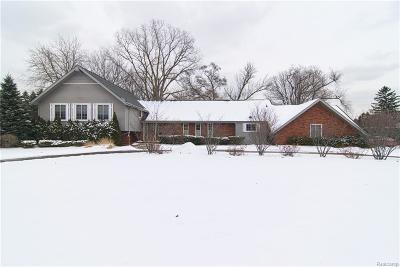 BLOOMFIELD Single Family Home For Sale: 1516 Ardmoor Drive