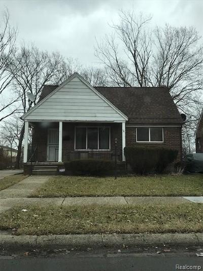 Detroit Single Family Home For Sale: 9340 Rutherford Street