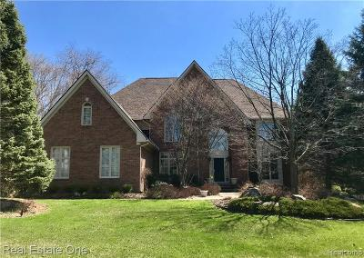 Rochester Hills Single Family Home For Sale: 1806 Westridge Drive