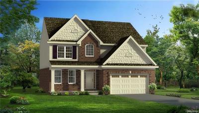 South Lyon Single Family Home For Sale: 222 Singh Boulevard