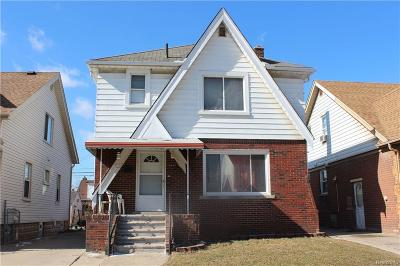 Dearborn Single Family Home For Sale: 6425 Barrie Street