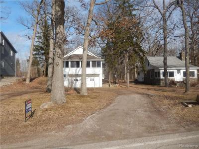 Hartland Twp Single Family Home For Sale: 1524 Maxfield