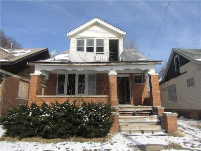 Detroit Single Family Home For Sale: 8225 E Hollywood Street