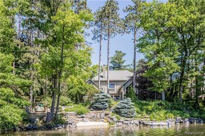 Lake Orion, Orion Twp, Orion Single Family Home For Sale: 1151 Abseguami Trail