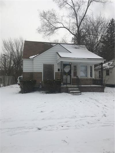 Detroit Single Family Home For Sale: 8669 Auburn Street