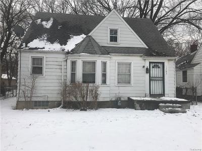 Detroit Single Family Home For Sale: 11697 Minock Street