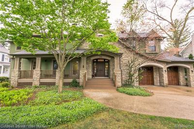 Birmingham Single Family Home For Sale: 739 Lakeview Avenue