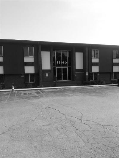 Southfield Commercial For Sale: 25140 Lahser Road #C261