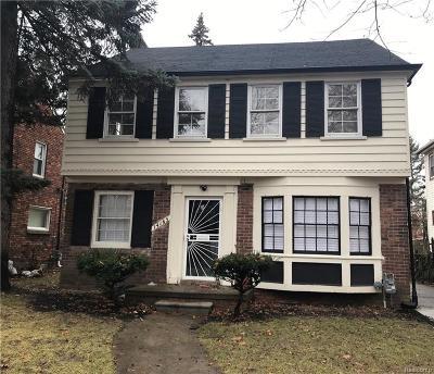 Detroit Single Family Home For Sale: 14165 Artesian Street