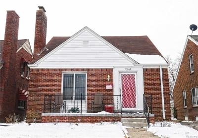 Detroit Single Family Home For Sale: 7361 W Outer Drive