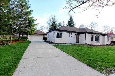 Southgate Single Family Home For Sale: 13693 Argyle Street