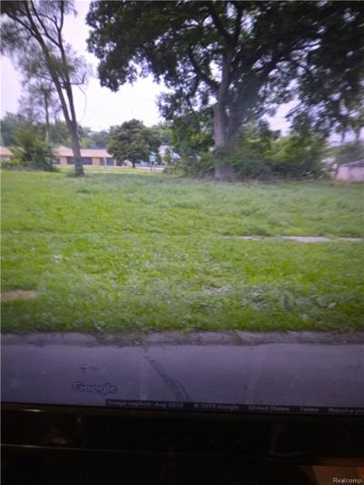 Detroit Residential Lots & Land For Sale: 18947 Dale