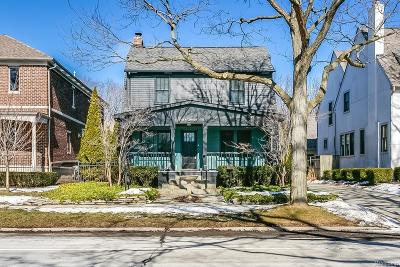 Birmingham Single Family Home For Sale: 468 W Lincoln Street