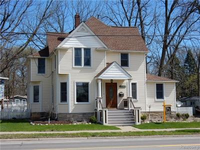 Farmington Single Family Home For Sale: 33620 Grand River Avenue