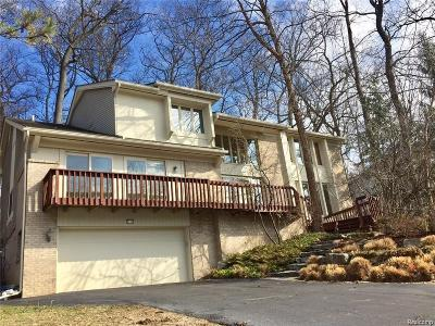 West Bloomfield Twp Single Family Home For Sale: 3118 Bloomfield Park Drive