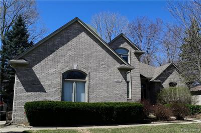 Rochester Hills Single Family Home For Sale: 3085 Wilmington Boulevard