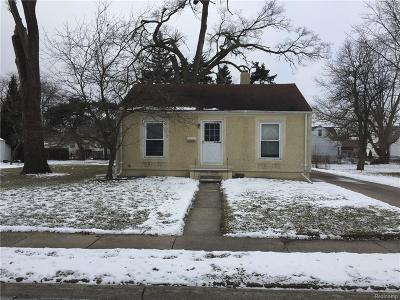 Eastpointe Single Family Home For Sale: 21941 Oakwood Avenue