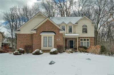 West Bloomfield Twp Single Family Home For Sale: 7595 Watford Drive