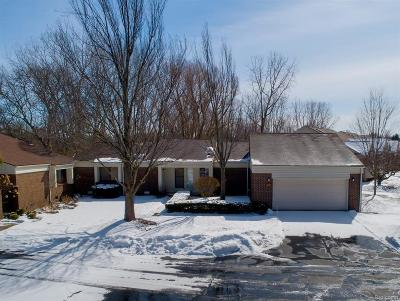 West Bloomfield Twp Condo/Townhouse For Sale: 5229 Simpson Lake Road