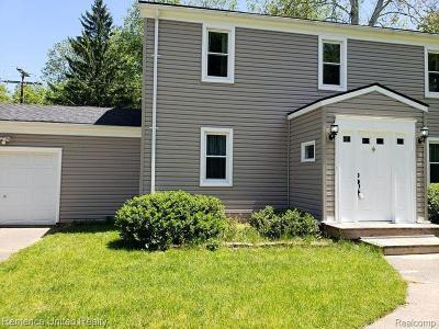 Belleville, Belleville-vanbure, Bellleville, Van Buren, Van Buren Twp, Van Buren Twp., Vanburen Single Family Home For Sale: 17287 Haggerty Road N