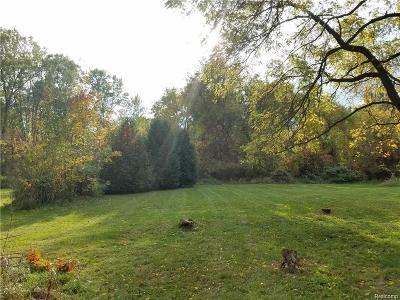 Rochester, Rochester Hills Residential Lots & Land For Sale: 3118 Hickory Lawn Road