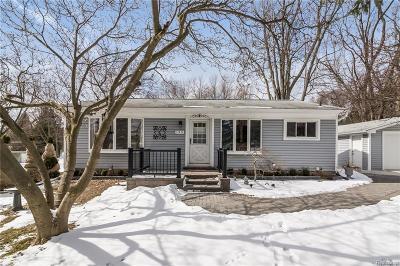 Rochester, Rochester Hills Single Family Home For Sale: 135 Arizona Avenue