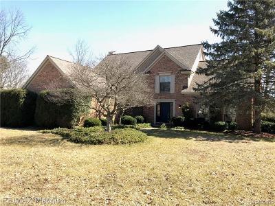 Farmington, Farmington Hills Single Family Home For Sale: 34811 Stoneridge Court