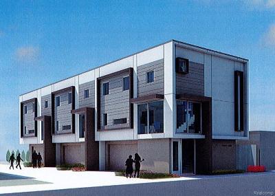 Royal Oak Single Family Home For Sale: 707 E 11 Mile Road
