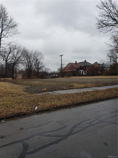 Detroit Residential Lots & Land For Sale: 3028 Beals Street