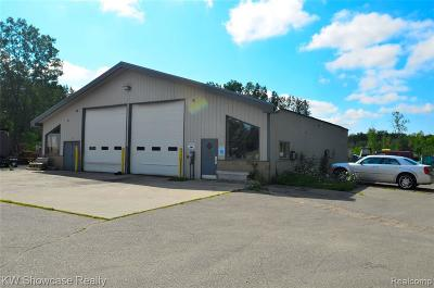 White Lake Twp Commercial For Sale: 8655 Highland