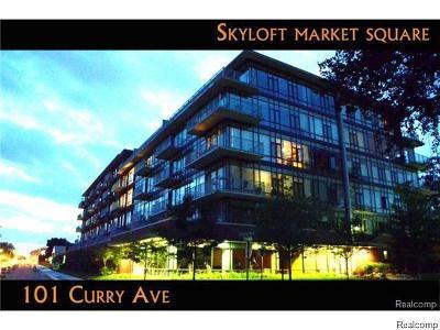 Royal Oak Condo/Townhouse For Sale: 101 Curry Avenue #510