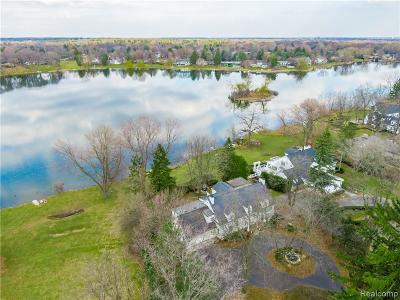 Bloomfield Twp MI Single Family Home For Sale: $1,890,000