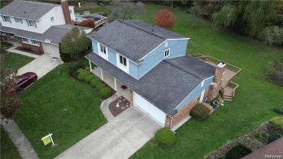 Livonia Single Family Home For Sale: 15778 Riverside Drive