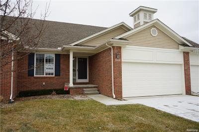 Chesterfield Twp Condo/Townhouse For Sale: 26190 Captains Landing #165