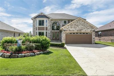 Sterling Heights Single Family Home For Sale: 39077 Ajanta Court