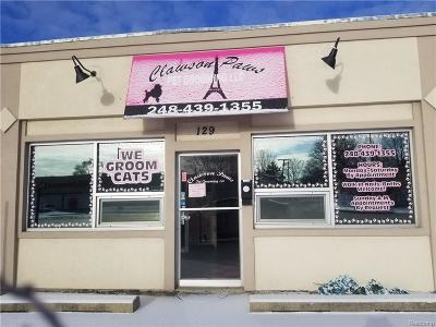 Clawson Commercial Lease For Lease: 129 N N. Rochester Road N