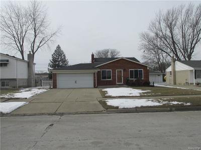 Warren MI Single Family Home Pending: $184,900