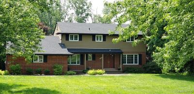 Bloomfield, Bloomfield Hills, Bloomfield Twp, West Bloomfield, West Bloomfield Twp Single Family Home For Sale: 486 Wishbone Drive