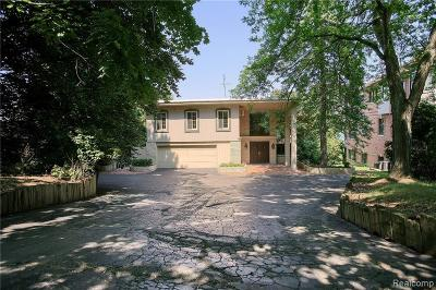 Orchard Lake Single Family Home For Sale: 3560 Wards Point Drive