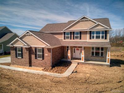 Hartland Twp Single Family Home For Sale: Tbd Walnut View Drive (Homesite 40)