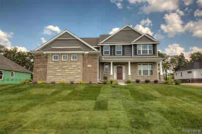 Hartland Twp Single Family Home For Sale: Tbd Walnut View Drive (Homesite 25)