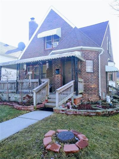 Dearborn Single Family Home For Sale: 6467 Coleman Street