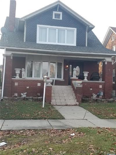 Dearborn Single Family Home For Sale: 7315 Bingham Street