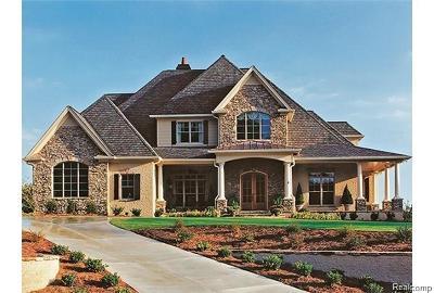 Highland Twp Single Family Home For Sale: Lot 3 Woodland Ridge Trail